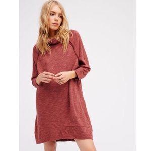 Free People Terri Cocoon Oversized Sweater Dress